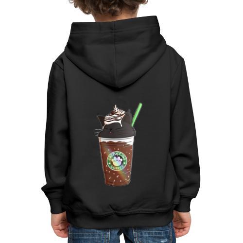 Catppucino Dark Chocolate - Kids' Premium Hoodie