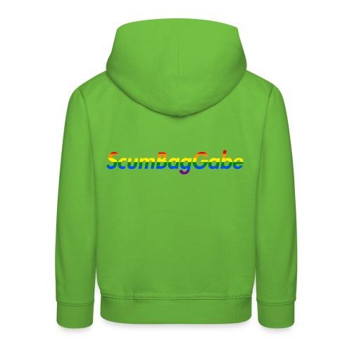 ScumBagGabe Multi Logo XL - Kids' Premium Hoodie