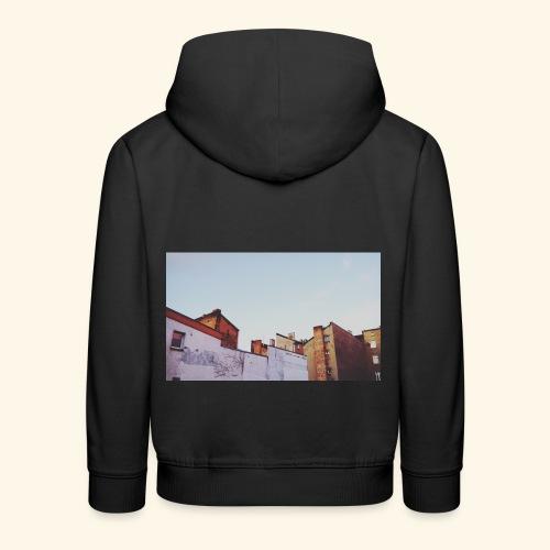 Sunset - Bluza dziecięca z kapturem Premium