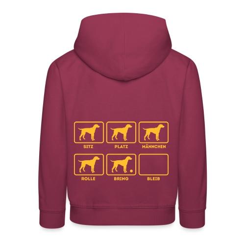 Für alle Hundebesitzer mit Humor - Kinder Premium Hoodie
