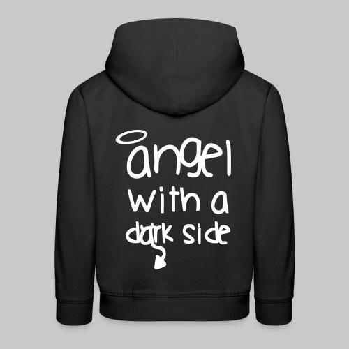 fashion Angel with a dark side Engel 2reborn - Kinder Premium Hoodie