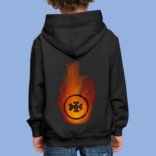 Smell like teen spirit Fire - Pull à capuche Premium Enfant