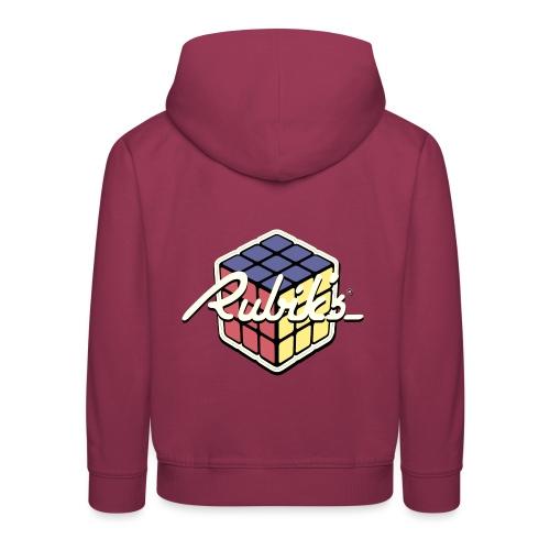 Rubik's Cube Retro Style - Kids' Premium Hoodie