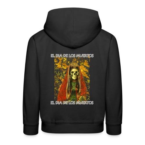 El Dia De Los Muertos Skeleton Design - Kids' Premium Hoodie
