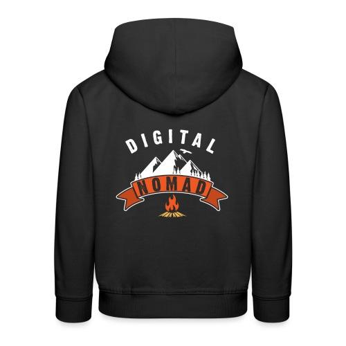Digital Nomad - Kinder Premium Hoodie