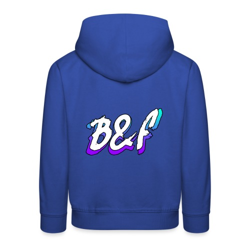 Purple and Blue Fade - Kids' Premium Hoodie