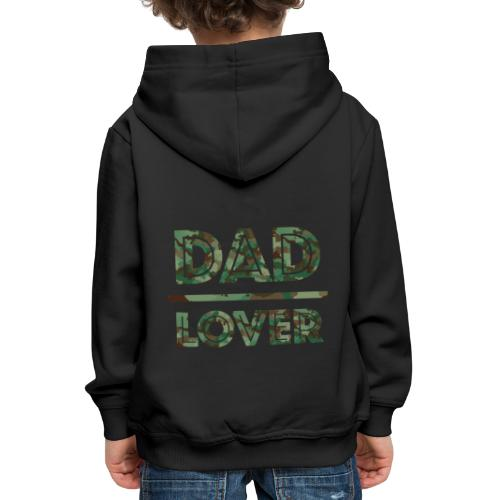 DAD LOVER - Premium-Luvtröja barn