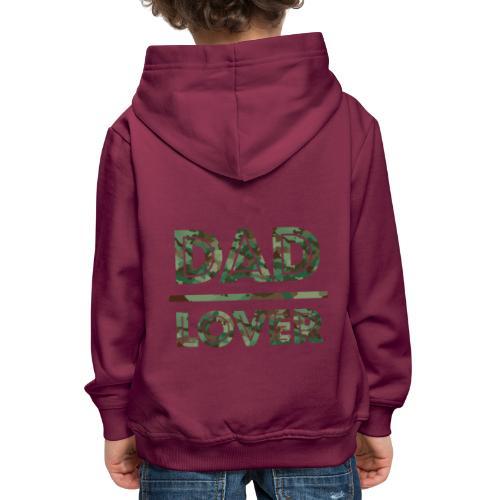 DAD LOVER - Premium-Luvtröja barn