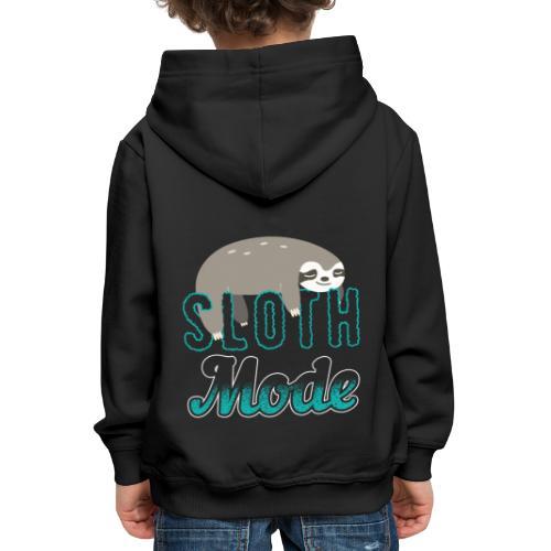 Sloth Mode Tired AF Running Shirt - Kinder Premium Hoodie