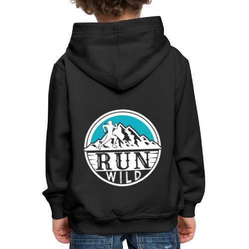 Run Wild - Kinder Premium Hoodie