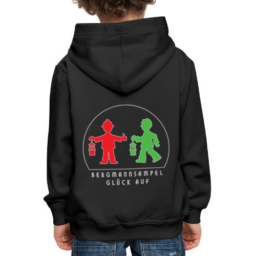 Die Bergmannsampel leuchtet - Kinder Premium Hoodie