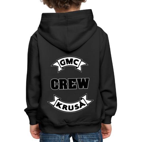 GMC CREWSHIRT - KUN FOR / CREW MEMBERS ONLY - Premium hættetrøje til børn