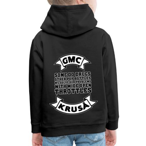 GMC Nogle gør narkotika - Premium hættetrøje til børn