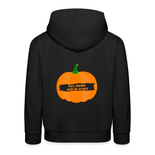 Halloween Pumpkin Shirt for Halloween - Kids' Premium Hoodie