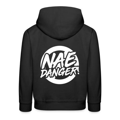 Nae Danger! - White - Kids' Premium Hoodie