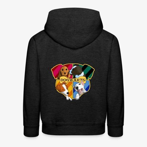 Dogwarts Logo - Kids' Premium Hoodie