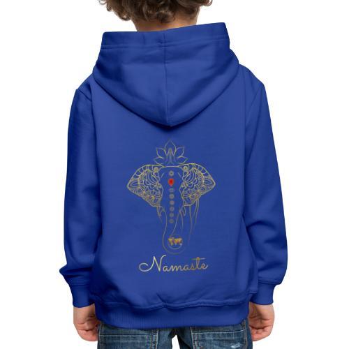Namaste Meditation Yoga Sport Fashion - Kinder Premium Hoodie