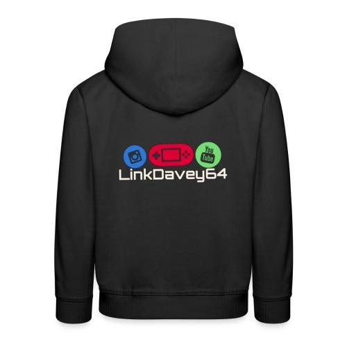 LinkDavey64 - Kinderen trui Premium met capuchon