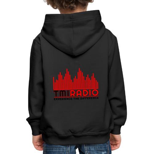 NEW TMI LOGO RED AND BLACK 2000 - Kids' Premium Hoodie