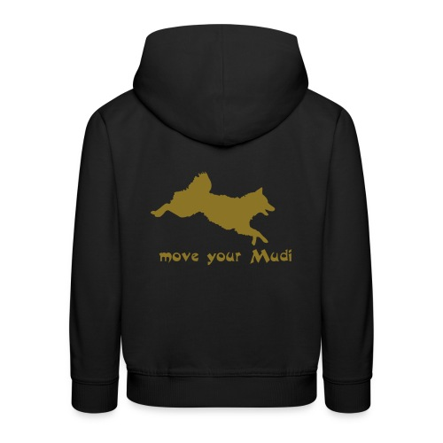 move your mudi - Kids' Premium Hoodie