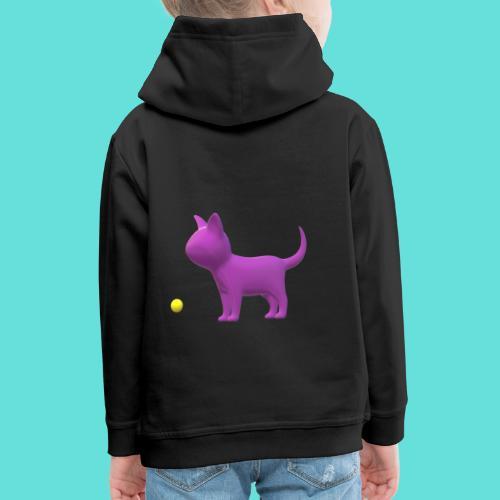 chat - Pull à capuche Premium Enfant