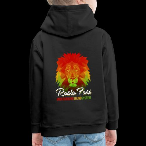 Rasta Fari LION - Kinder Premium Hoodie