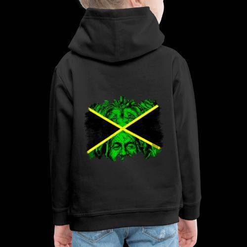 LION BOB JAMAICA - Kinder Premium Hoodie