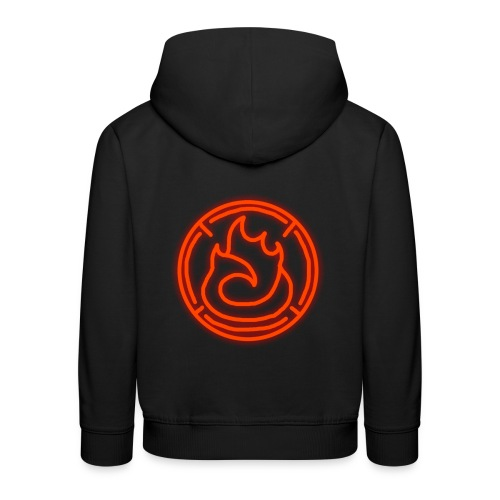 Fire Magic Circle - Kids' Premium Hoodie