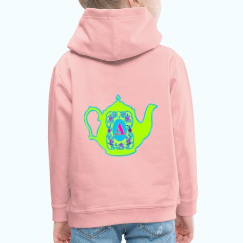 Wonders & Madness Tea Party - Kids' Premium Hoodie
