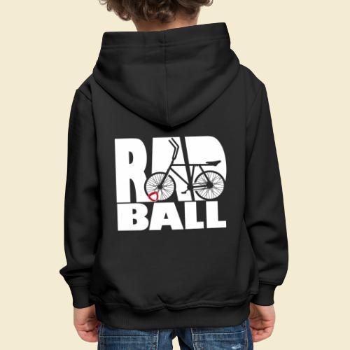 Radball | Typo - Kinder Premium Hoodie