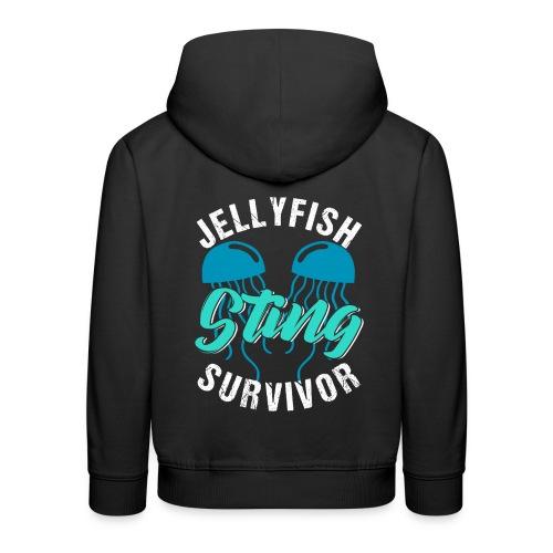 Jellyfish Sting Survivor - Kinder Premium Hoodie