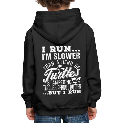 Run Turtles As Fast As We Can - Kinder Premium Hoodie