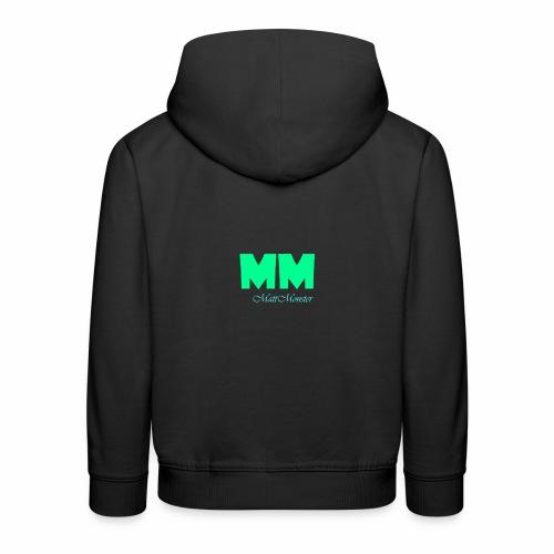MattMonster Signature logo - Kids' Premium Hoodie
