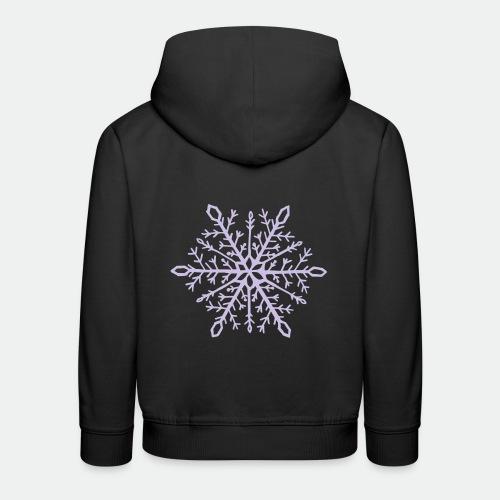 Snowflake mandala - Kids' Premium Hoodie