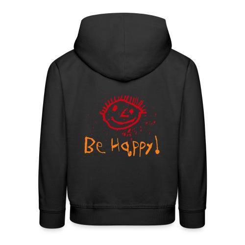 behappy png - Kinder Premium Hoodie
