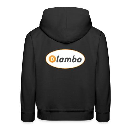 Lambo - option 1 - Kids' Premium Hoodie
