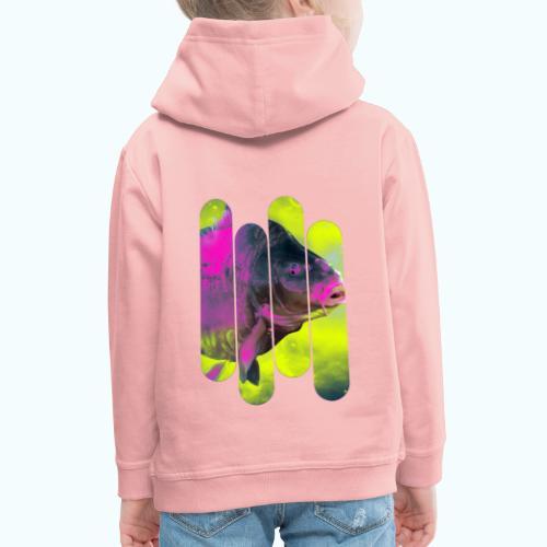 Neon colors fish - Kids' Premium Hoodie