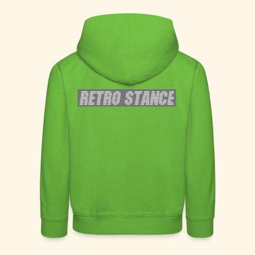 Retro Stance - Kids' Premium Hoodie