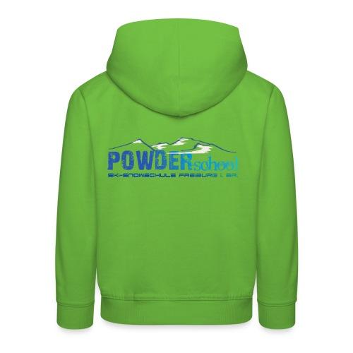 Logo Blau berg png - Kinder Premium Hoodie