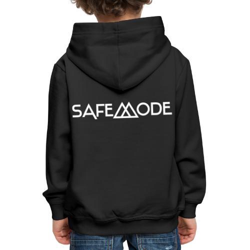 Safemode - Logo white - Kids' Premium Hoodie