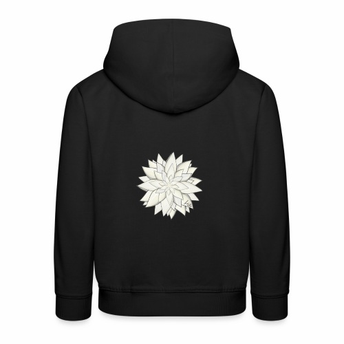 White Flower - Kinder Premium Hoodie