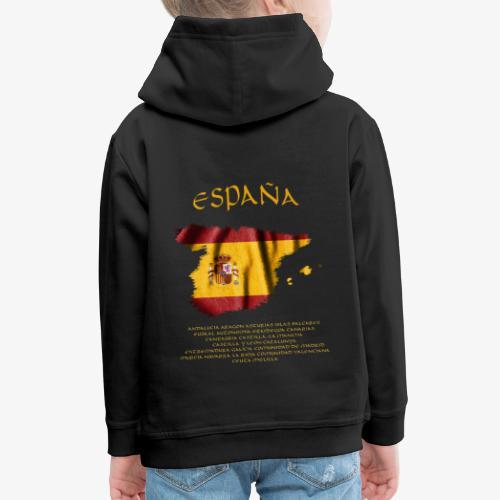 Spanische Flagge - Kinder Premium Hoodie