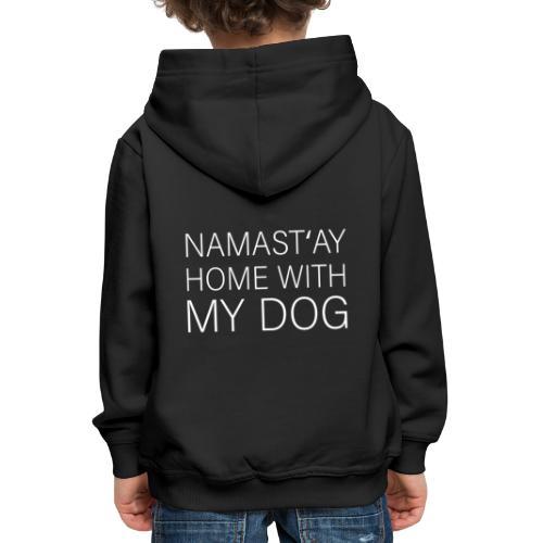 Lustiger Spruch Hundehalter Hundeliebhaber Hund - Kinder Premium Hoodie