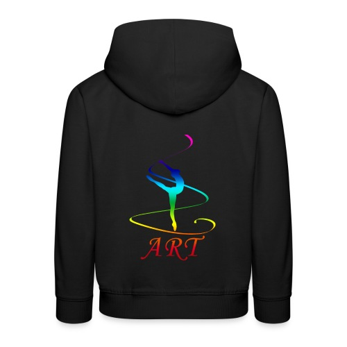 Atelier Rainbow Tanzkunst - Kinder Premium Hoodie