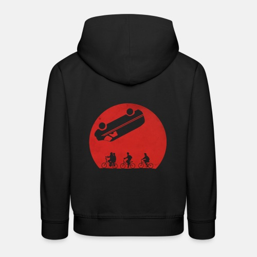 Stranger Things Eleven 80's Design - Kids' Premium Hoodie