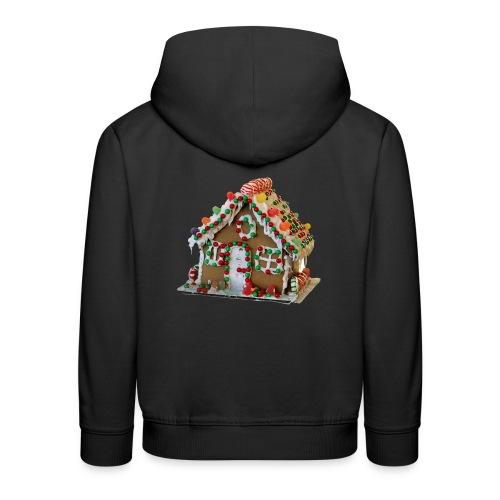 Lebkuchenhaus Weihnachten - Kinder Premium Hoodie