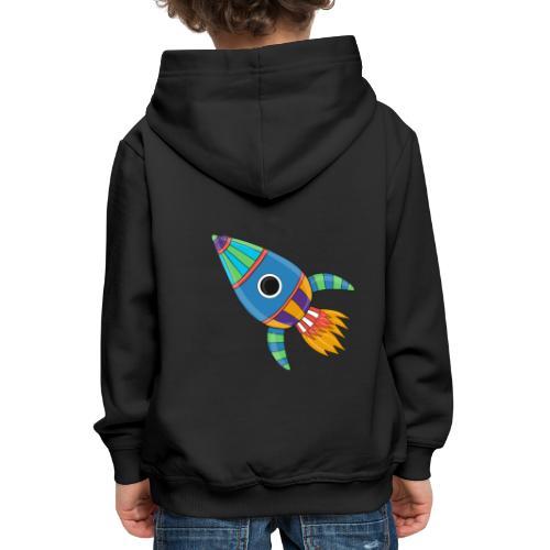 Bunte Rakete - Kinder Premium Hoodie