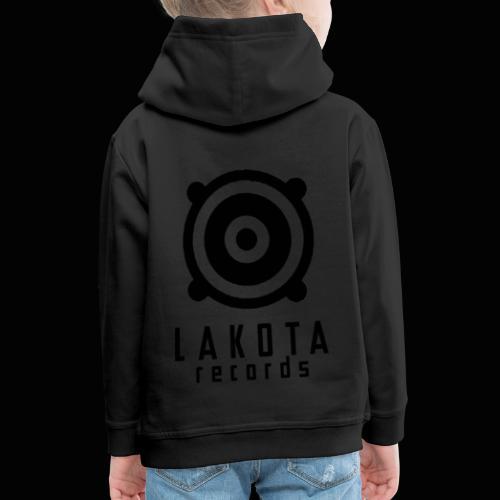 LAKOTA Logo black - Kinder Premium Hoodie