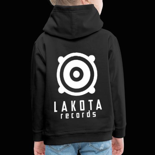 LAKOTA Logo White - Kinder Premium Hoodie