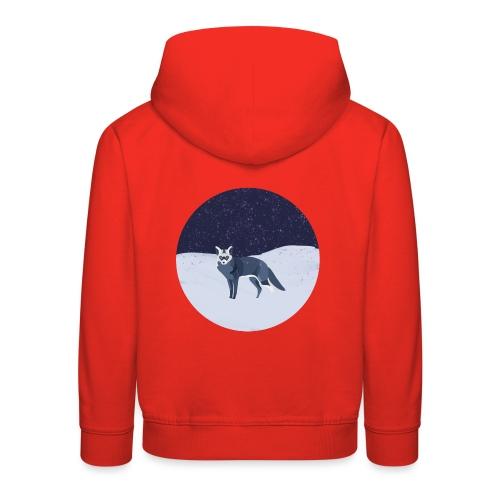 Blue fox - Lasten premium huppari